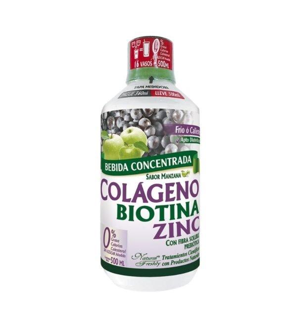 Beneficios del bebida funcional colageno x 500 ml